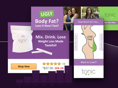 Weight loss banner ads fat body loss prevention natural supplement workout weight loss google ad banner branding html5 banner ads ads design display ads fitness bmi height banner loss weight