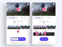 Video Editing App - Split and Trim mode