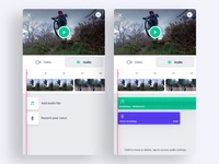 Video Editing App - Audio edition