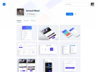 Profile Page - light version