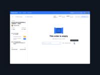 Empty Order UI