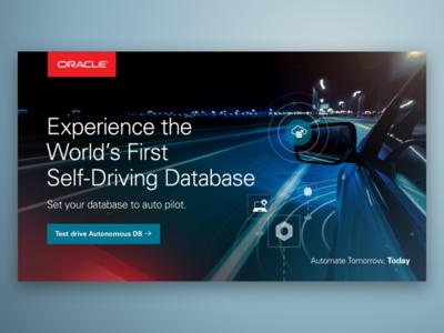 Oracle Autonomous Database Creative Concept