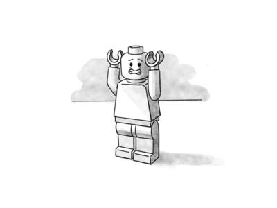 Lego Illustration 3