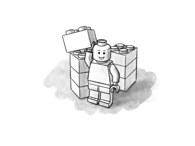 Lego Illustration 4
