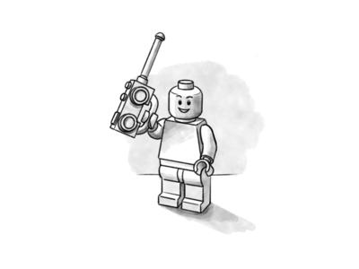Lego Illustration 5