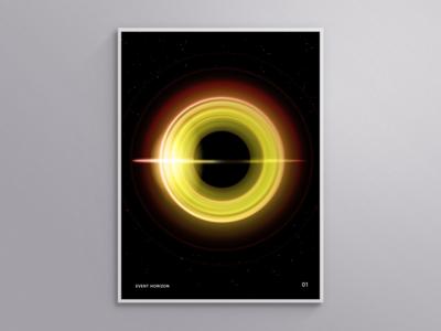 """""""Event Horizon"""" Poster"""