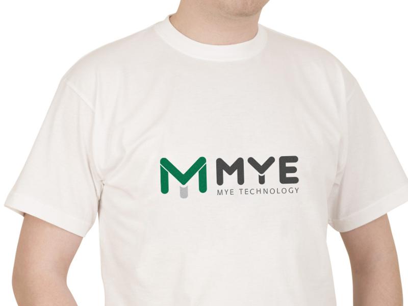 Mye technology graphic brand logo