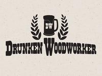Drunken Woodworker Logo