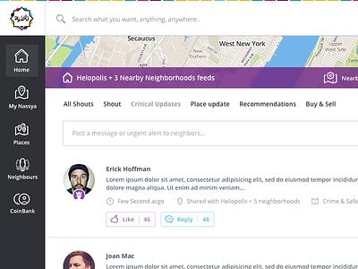 Nassya 2.0 nassya usamawa news feed post map place