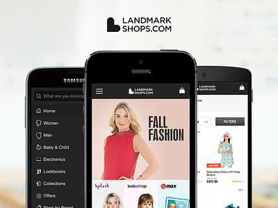 LandmarkShops Responsive responsive usamawa landmarkshops