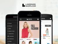 LandmarkShops Responsive