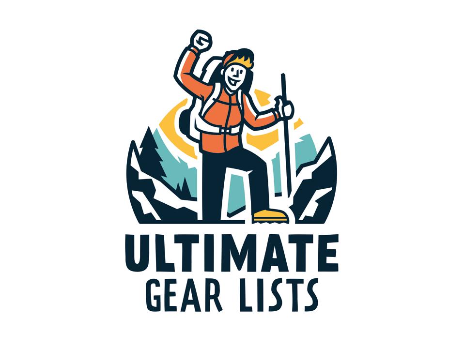 Ulitimate Gear Lists logo design logo design branding logo