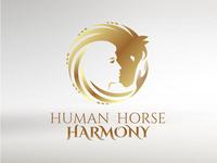 Human Horse Harmony Logo Design