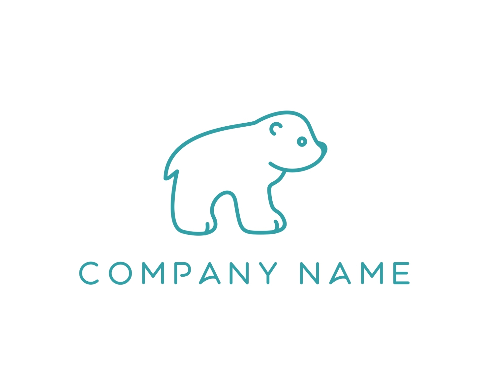 Little Polar Bear Logo For Sale By Gabriela Maria Pascenco