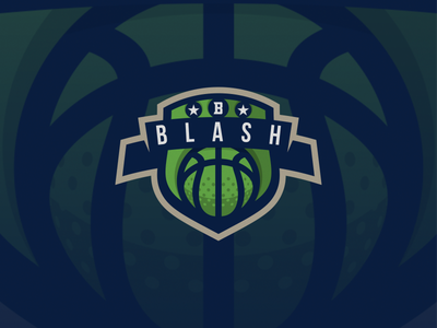 BLASH basketball esport logo