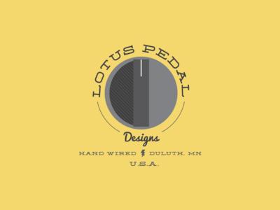 Lotus Pedal Designs logo branding logo