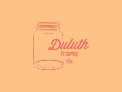 Duluth Preserving Company logo logo branding