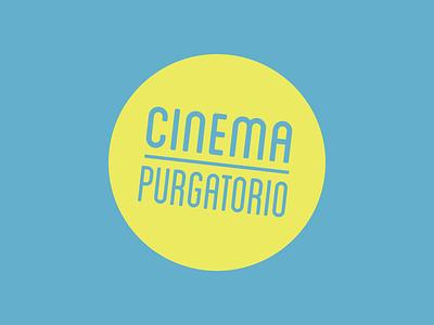 Cinema Purgatorio logo cinema branding logo
