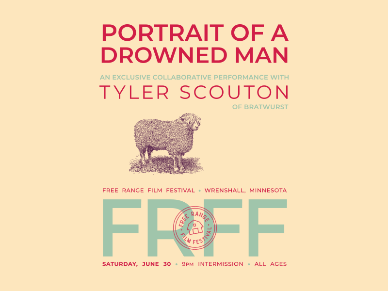 Portrait of a Drowned Man poster film festival gig poster poster