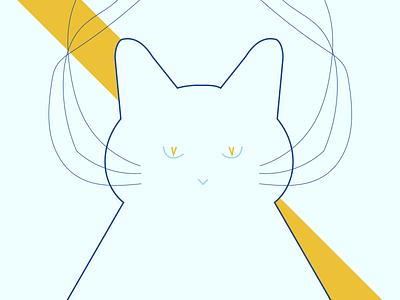 Cat Illustration gig poster poster cat illustration illustration cat