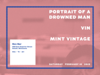 Portrait of a Drowned Man poster - 2/16/19
