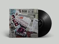 The Dames 'Detritus' LP Jacket