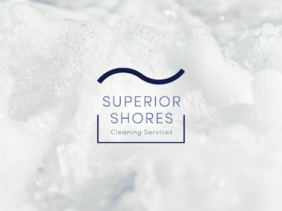 Superior Shores Cleaning Services logo cleaning services cleaning service cleaning company cleaning minnesota duluth branding logo