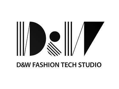 D&W FASHION TECH STUDIO Logo logo