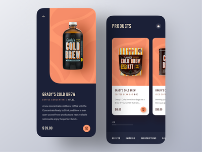 Coffee shop App webpage portfolio website product templates mockup landing page design website design ux mobile ui android app food app ecommerce app ecommerce coffee bean application mobile app app coffeeshop coffee