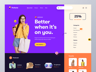 Clothing Store Website sportswear apparel fashion blogger streetwear clothing online shopping women fashion shopping fashion brand clothing brand typography website design ux ui mockup web design ecommerce homepage landing page website