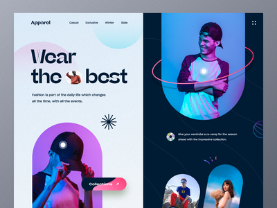 Fashion Website Design streetwear clothinglines outfits online shopping shopping ecommerce shop clothing company clothing brand apparel fashion product typography ui ux mockup web design ecommerce homepage landing page website