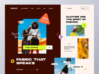 Fashion Website concept online shop photography style fashionblogger outfits streetwear clothingline clothing company clothing brand apparel fashion mockup ux ui website design ecommerce web design homepage landing page website