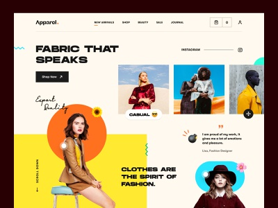 Fashion Landing Page ux ui streetwear online shop photography clothing brand clothing company clothing line outfits fashionblogger style clothing apparel fashion ecommerce mockup web design homepage landing page website