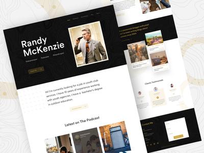 Vcard Personal Website Exploration