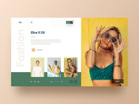 Elicx - Fashion Web UI