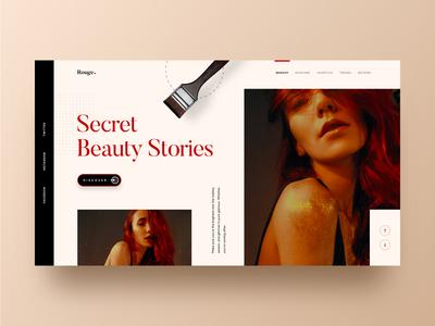 Rouge - Creative Blog UI