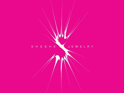 SHESHE lettering creative direction typography design branding logo