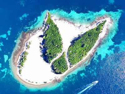 INDIVA Island indiva sun ocean island cannabis art design photo-retouching illustration