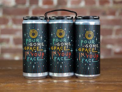 Ecliptic Brewing Crowler Label
