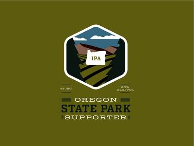 State Parks IPA Label