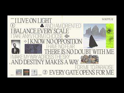 ©CLARITY - Zine exploration typography zines graphic design minimalistic