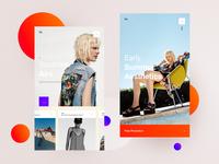 Za –  Mobile Lookbook concept