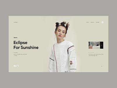 Kumbaya website tag colour gray inspire ux transition minimalistic ui web