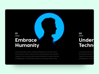The Bionic Project: Website UI Design Project design website design