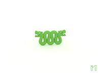 Green - Aztec Snake