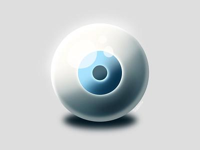 The Eye eyes digitalart procreate digital illustration vector design illustration