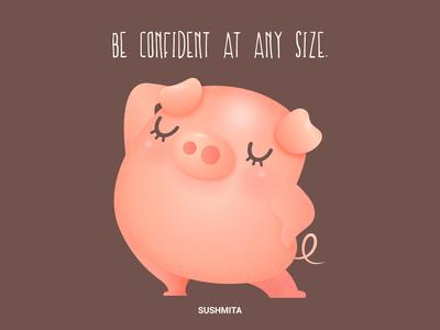 I am curvy and I like it!