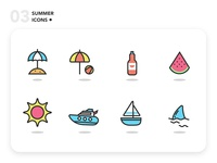 Summer Icons 03 - Freebie