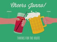 Cheers Jonno