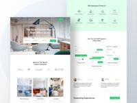 Workspace Renting Landing Page #2